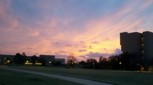 Here in Texas, every sunset is a waterfall, the sky is just poetic, 2012